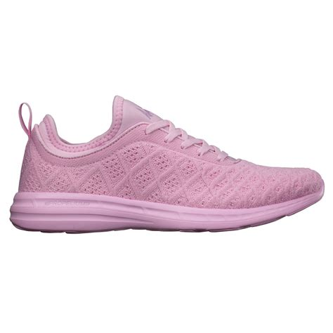 apl s running shoes techloom phantom soft pink