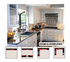 Kitchen Cabinet Layout Ideas Kitchen Layout Ideas Planner Examples Amp Images