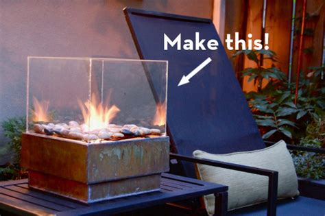 How To Build A Cheap Outdoor Fireplace by Make It A Sleek Outdoor Pit On The Cheap Curbly