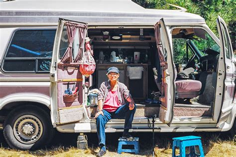 this family lives life in a van business insider inspiring photos reveal the lives of people living in tiny