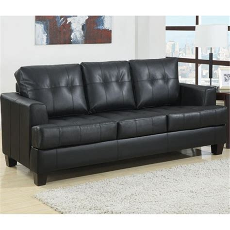 black tufted sofa black button tufted sofa sleeper