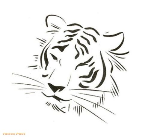 simple tiger tattoo designs simple tiger designs