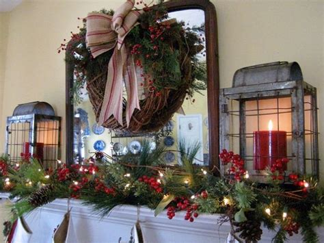 my farmhouse christmas mantel hometalk