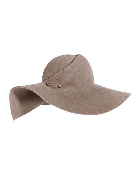 Luxury Floppy Hats By Eugenia by Eugenia Catherine Floppy Felt Hat