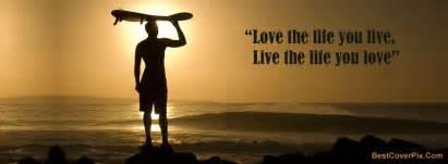 Live life quotes fb cover quotesgram