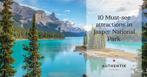 jasper national park    attractions map