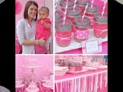cute themes for baby first birthday cute first birthday party ideas for girls youtube