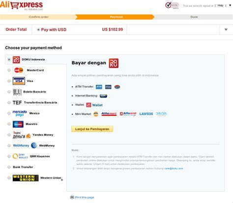 Aliexpress Ke Indonesia | belanja di aliexpress dengan pembayaran bank lokal