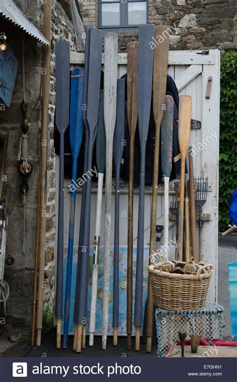 used wooden boat oars for sale oars stock photos oars stock images alamy