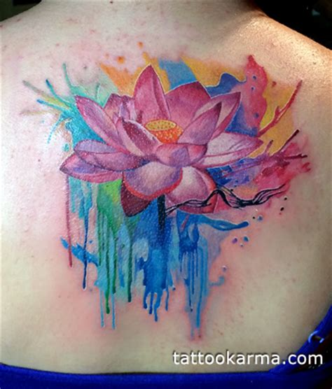 lotus watercolor tattoo 1000 images about watercolour tattoos on