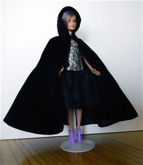 Barbie Cape with Hood   Sewing and Pattern