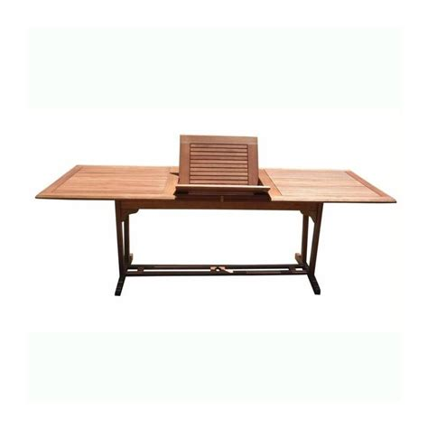 Patio Table Extension Outdoor Airblade Rectangular Extension Table V232