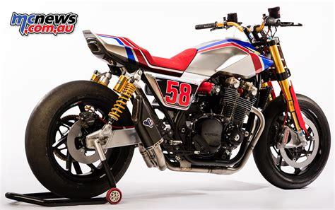 Honda CB1100 TR Concept   Ballsy big retro rocket   MCNews