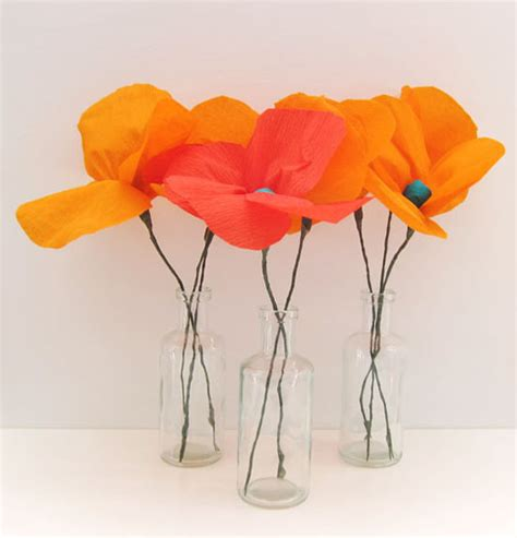 How To Make Paper Poppy Flowers - our favourite diy paper flowers paperlust