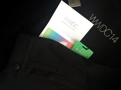 15 App Store Gift Card - wwdc 2014 swag bag includes app store gift card and conference jacket imore