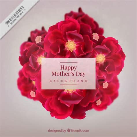 fiori realistici fiori realistici giorno sfondo della madre scaricare