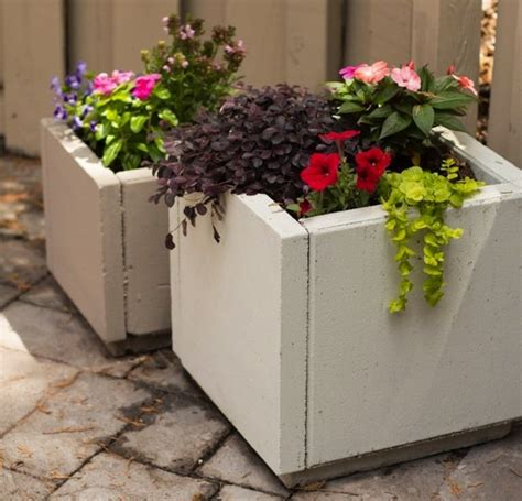 Planter Diy by Diy Concrete Planters Bob Vila