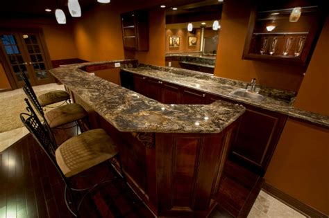 Granite Tile Bar Top by Bar Tops Gta Countertops