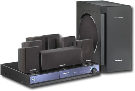panasonic 1000w 7 1 channel home theater system with