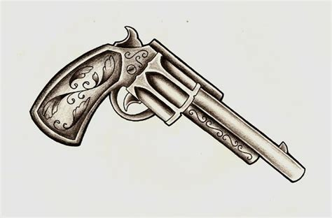 revolver gun tattoo designs fresh 2017 tattoos ideas