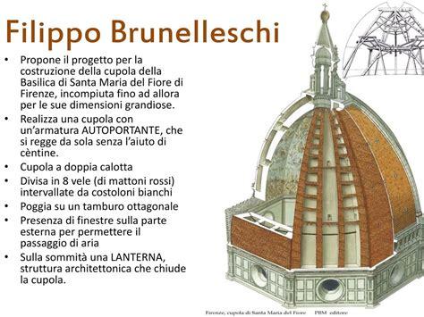 filippo brunelleschi cupola l arte quattrocento ppt scaricare
