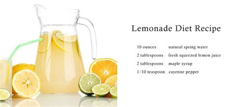 Lemon Detox Diet Recipe by By Geib Since Beyonce Knowles Was Associated