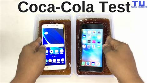 samsung galaxy j7 prime vs iphone 6s plus coca cola freeze test 12 hours 30 minutes