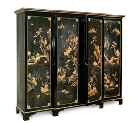 Japanese Wardrobe by Chinoiserie Wardrobe Painted Furniture The Decorative Fair