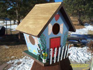 build a bird house gardenerscott
