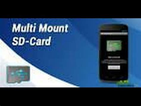 mount sd card android multi mount sd card app for android