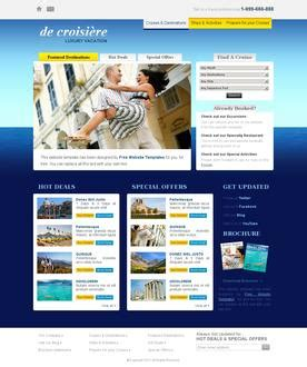 Free Website Templates Page 3 Four Page Website Template