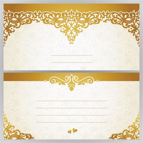 vintage style photo cards template vintage greeting cards with floral motifs in