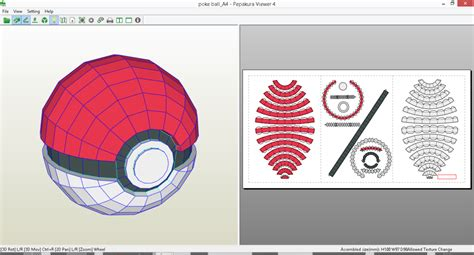 Pokeball Papercraft - papercraft images images