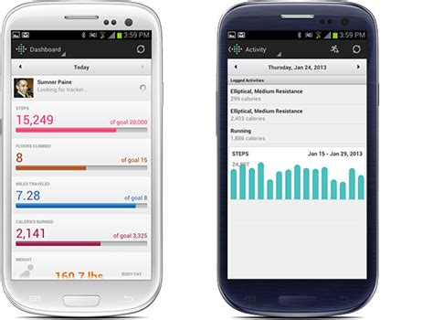 fitbit app for android jog tracker app for android