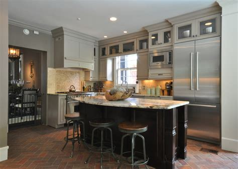 Downtown Mobile, Alabama Historic Home Kitchen Remodel