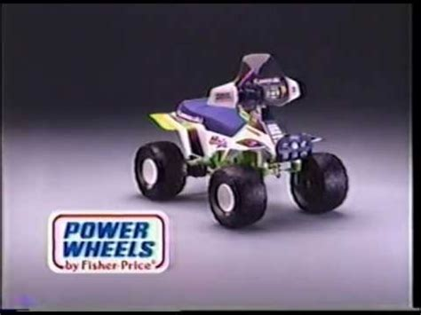jeep power wheels 90s power wheels commercial kawasaki
