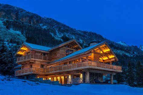 Chalet De Luxe Alpes 4425 by Chalets Andr 233 Faure Vincent Construction De Chalets Bois