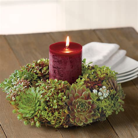 succulent holiday centerpiece christmas wreaths gifts