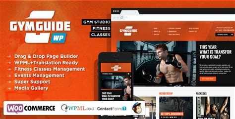 themeforest fitness gym guide fitness sport wordpress theme by chimpstudio