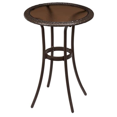 Home Depot Bistro Table by Outdoor Bistro Tables Patio Tables The Home Depot