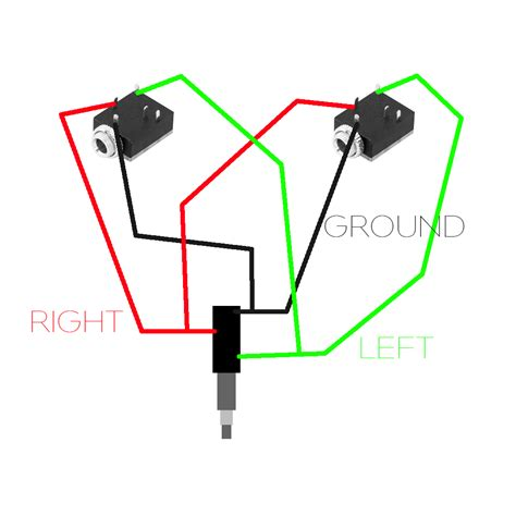 sony headphone wiring diagram stereo headphone wiring