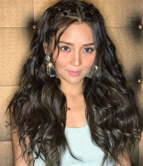 kathryn bernardo hair style kathryn bernardo hairstyles sided bangs layered hair