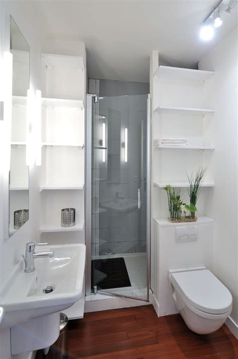 Modern Bathrooms Houzz Houzz Small Bathrooms Bathroom Contemporary With Tagres Blanches Avec Bac