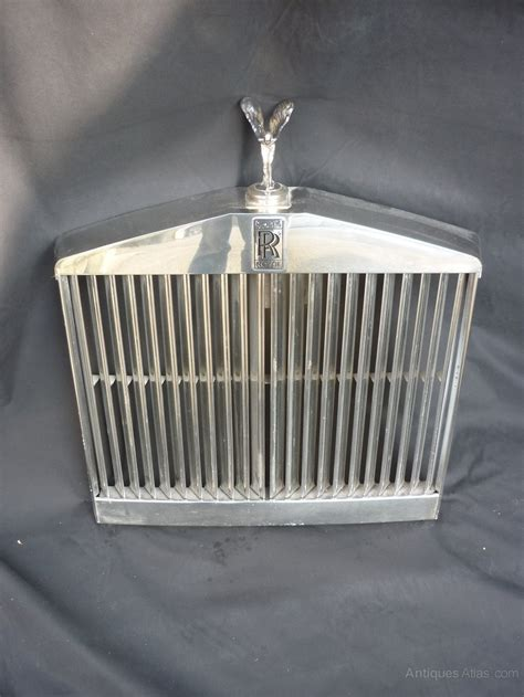 antiques atlas rolls royce shadow grill with flying