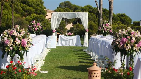 Wedding In The Garden Ideas Weddings In Majorca At The St Regis Mardavall Mallorca Resort