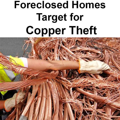 Records Foreclosure Homes Foreclosed Homes Target For Copper Theft Local Record Office