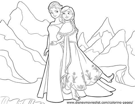 frozen coloring pages elsa pdf disney frozen coloring pages disney s disney frozen and