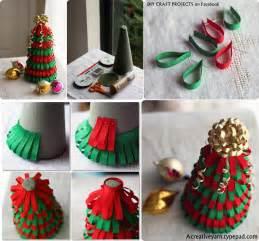 Diy ribbon christmas tree diy craft projects