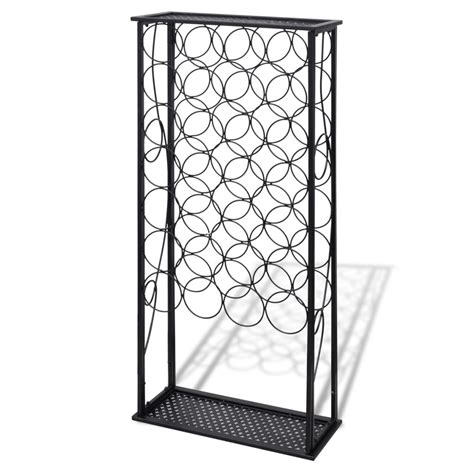 Amazing Black Wrought Iron Wine Rack #5: Image.jpg