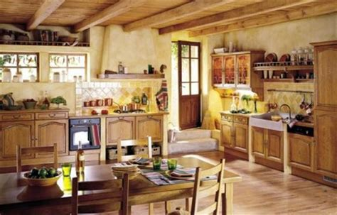 Country Style Kitchen Design Country Style Kitchen Design Decobizz